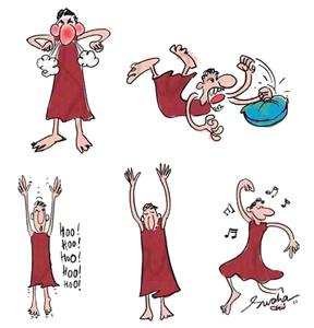 osho-dynamic-cartoon-by-Swaha