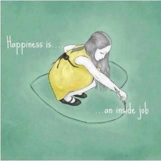 快樂是內在的工作。